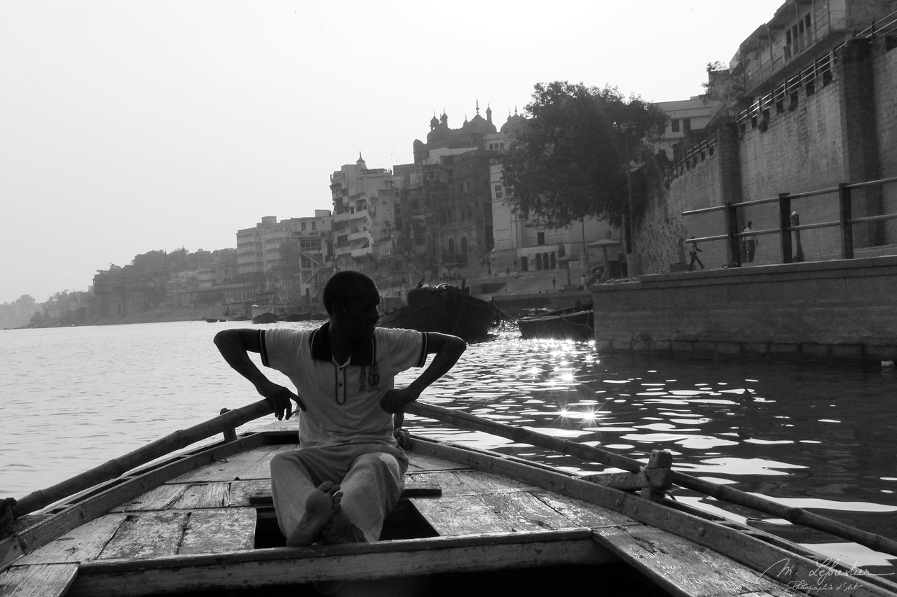 the Ganges in Varanasi