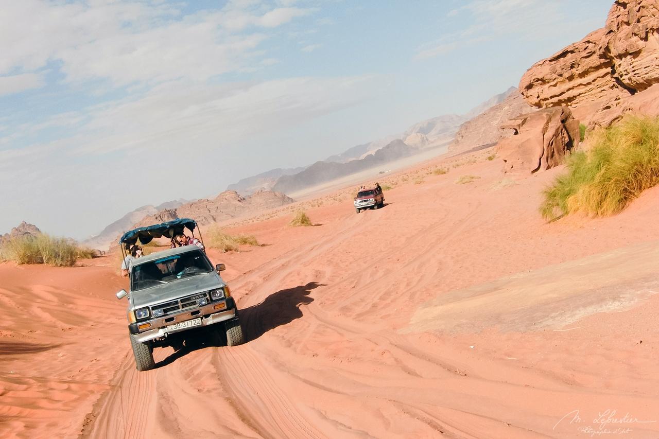 Adventure in the Wadi Rum Red Desert