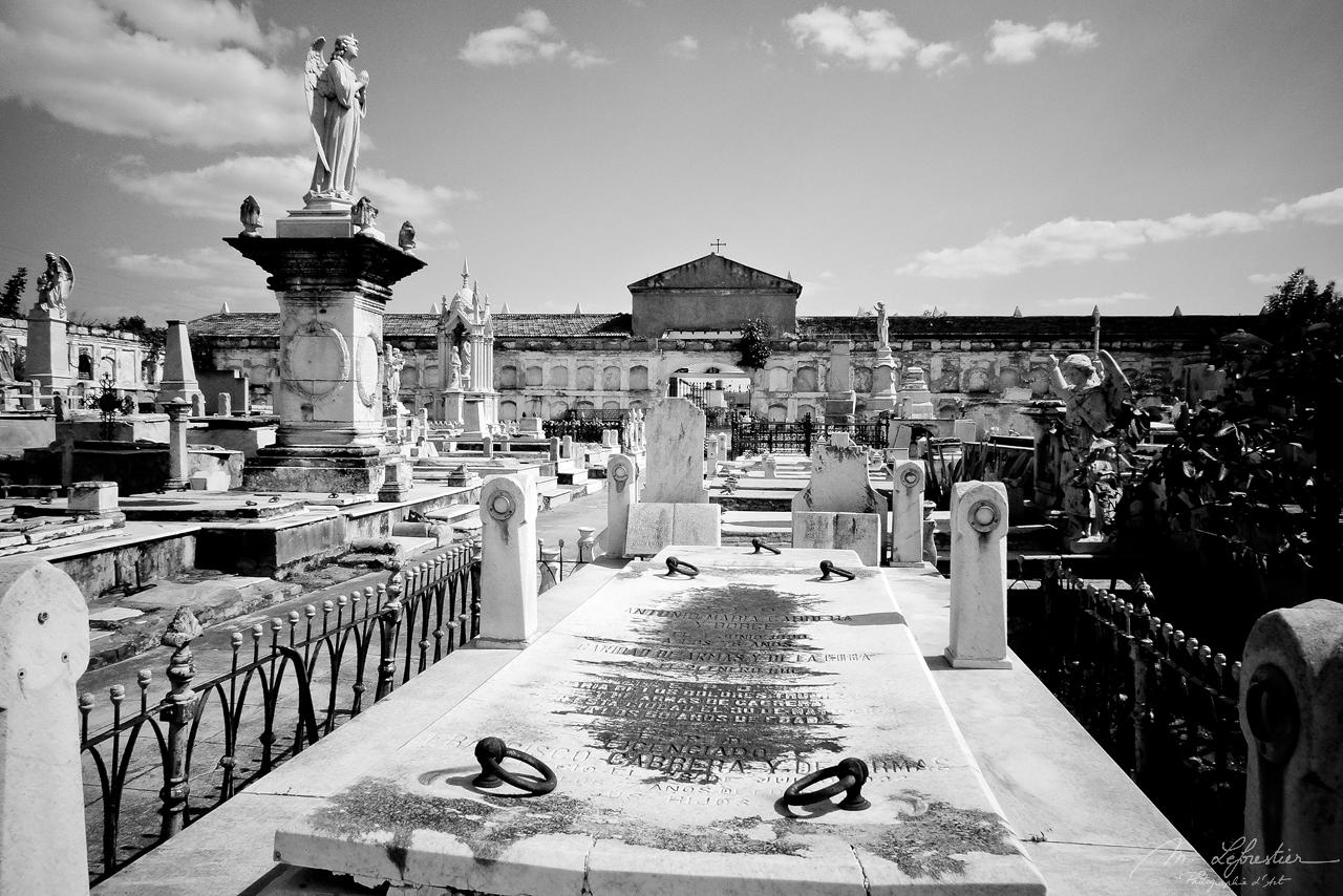 graves at the queen cemetery in Cienfuegos cuba