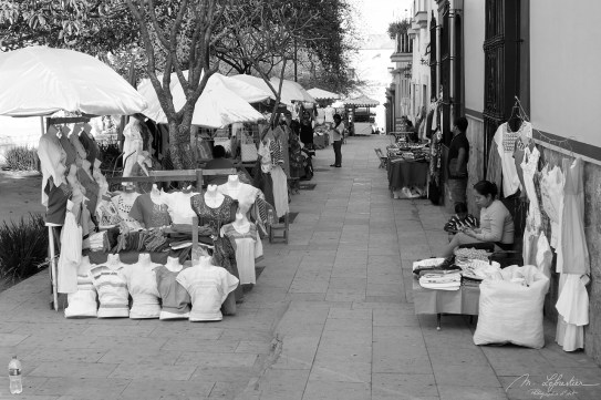 street markets in the colonial city of Oaxaca in Mexico