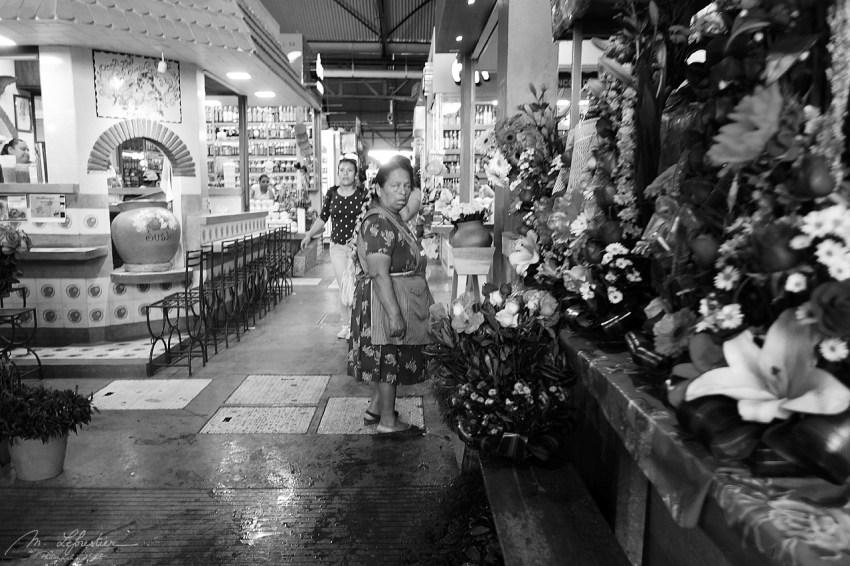 woman in the Benito Juarez Market in Oaxaca Mexico