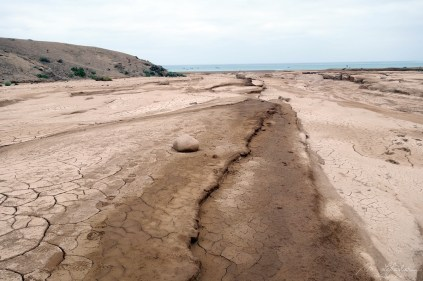 heavy mud after the floods of 2015 in the Atacama region