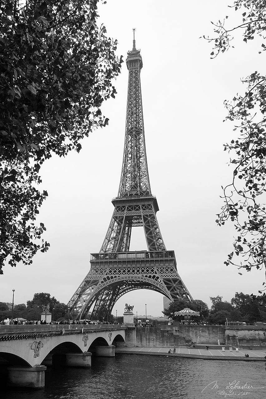 the Eiffel Tower Iron Lady of Paris