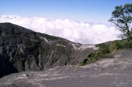 Volcano Poas Costa Rica active