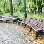 Belarus Minsk street litter bin