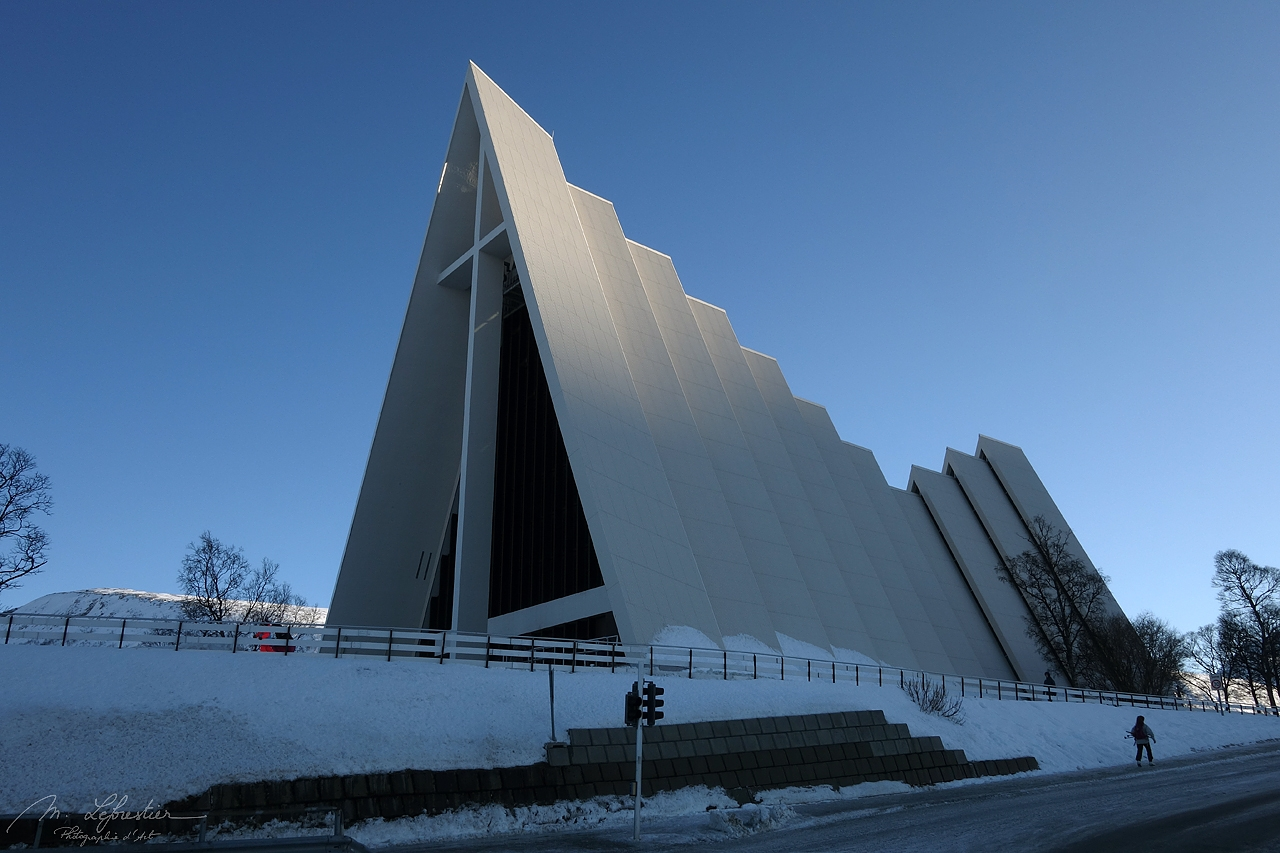 The cathedral of the arctic sea or simply Arctic Cathedral was designed in 1965 by Architect Jan Inge Hovig
