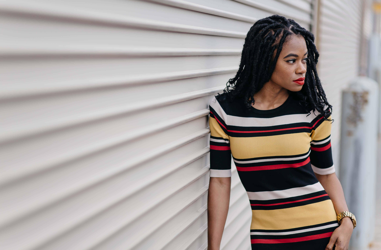 Striped Maxi Dress AKIRA 6