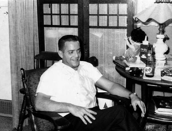 Norman Sloan, at home, 1965