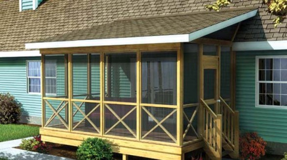 PORCH ROOF DESIGNS Shed style Porch Roof