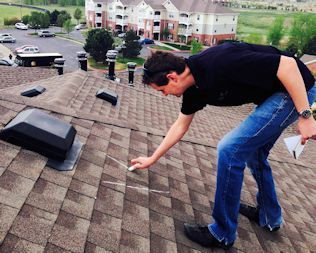 Roof Worx Hail Inspection