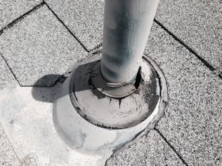 Denver Roof Leak Repair - Roof Inspection - Damaged Pipe Boot