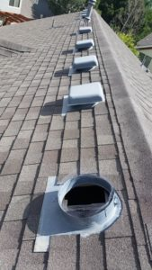 Roof Repair Denver - Missing Roof Vent
