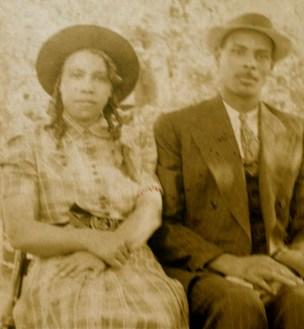 Harriet Walker & Kermit Mitchell