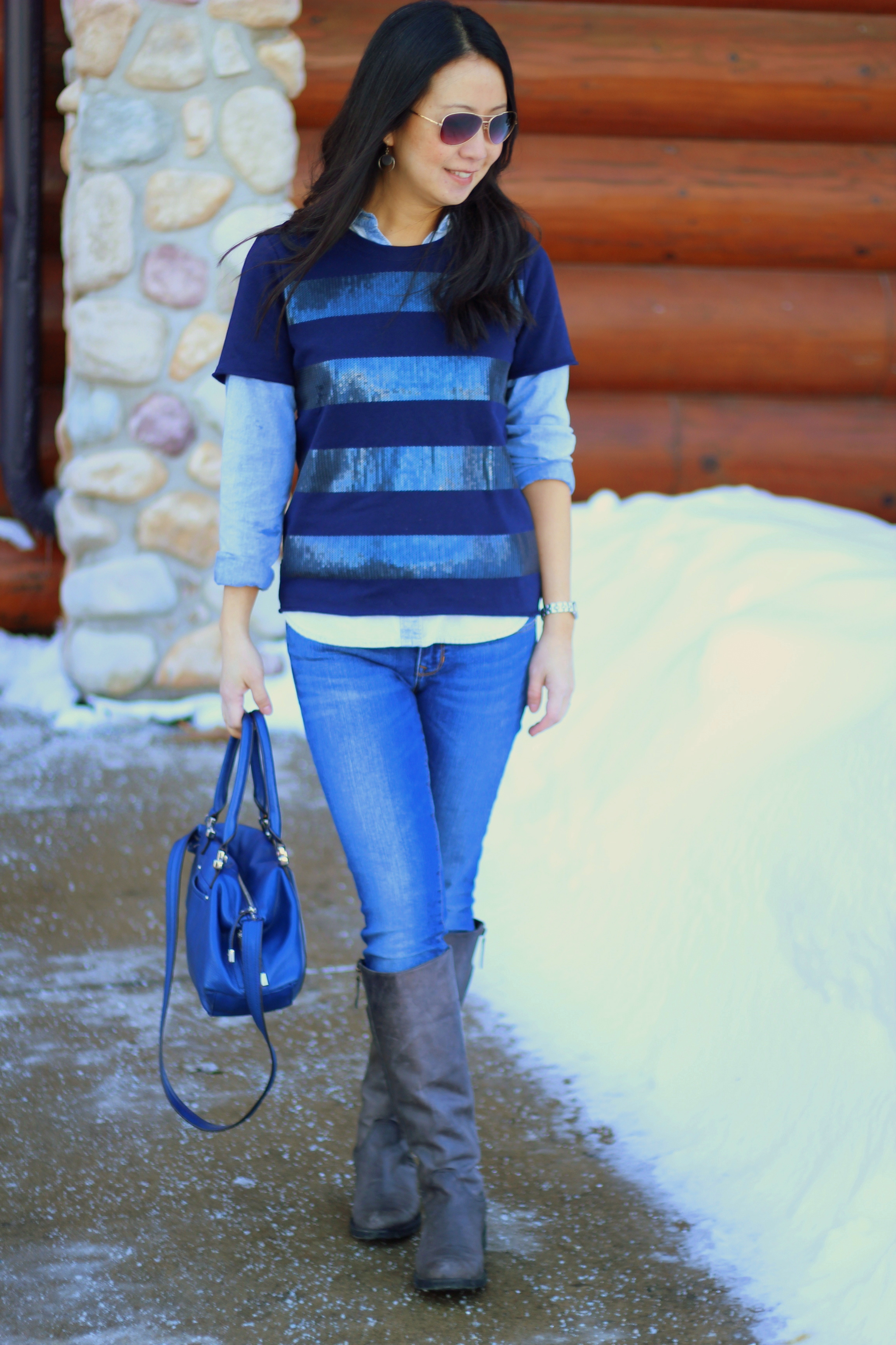 Outfit Highlight: 15 Shades of Blue