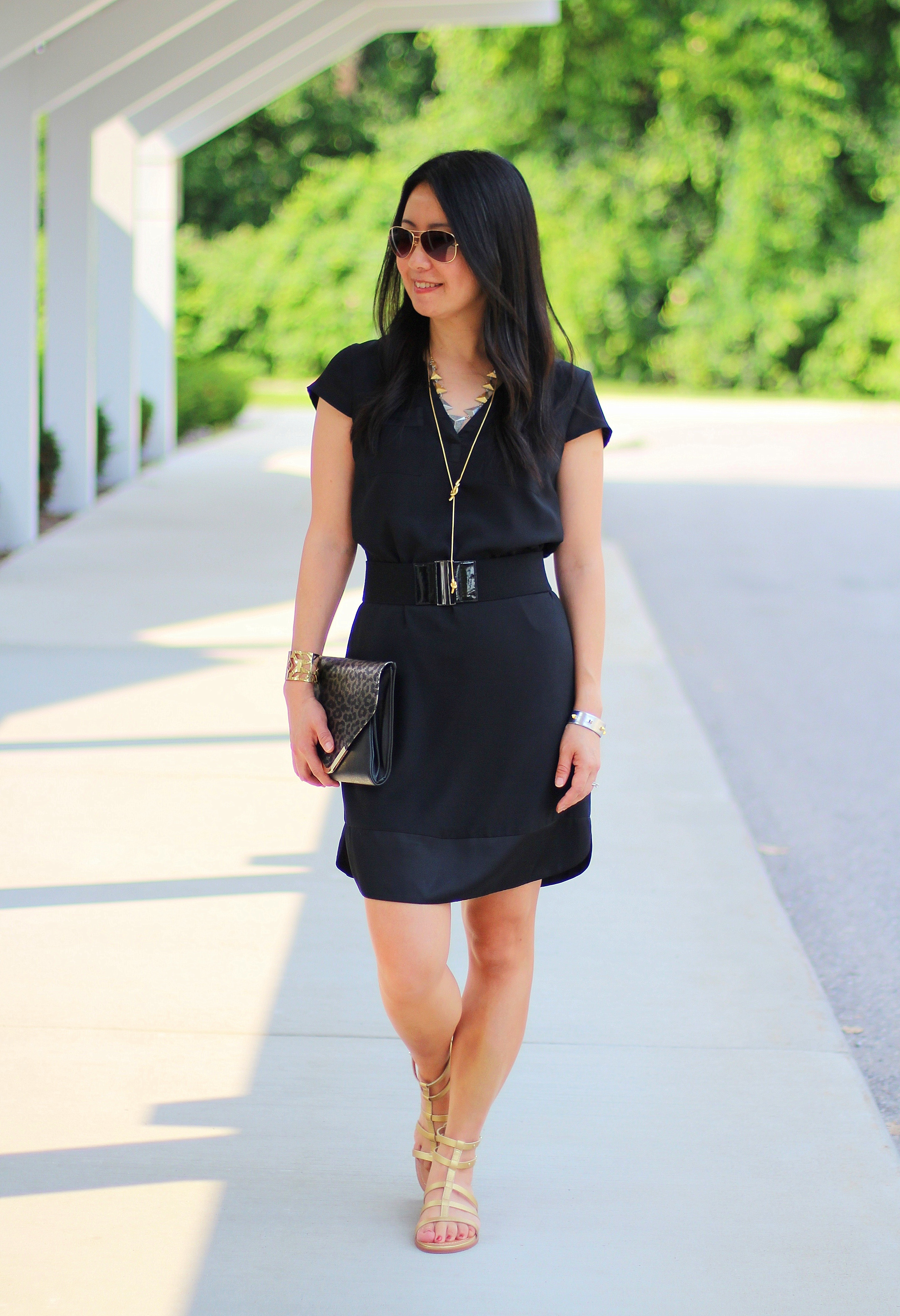 Outfit Highlight: Black and Gold