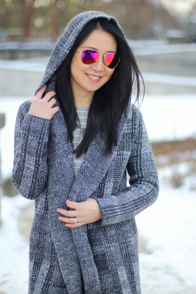 Outfit Highlight: The Oversized Cardigan