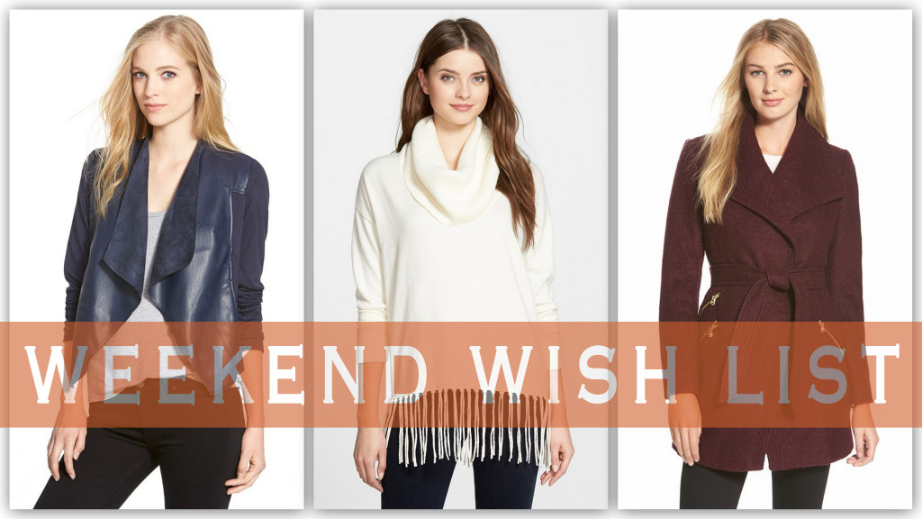 Weekend Wish List - Nordstrom Sale