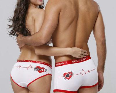 Sous vêtements – Couple – assortis – mod5