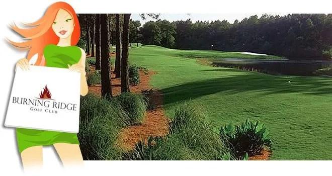 Burning Ridge Golf Rounds Save