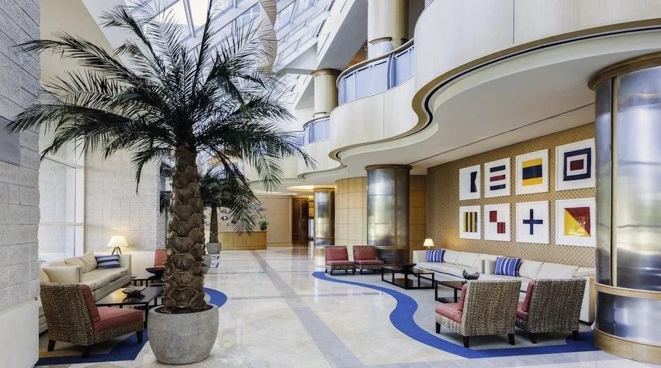Lobby Sheritan Convention Myrtle Beach