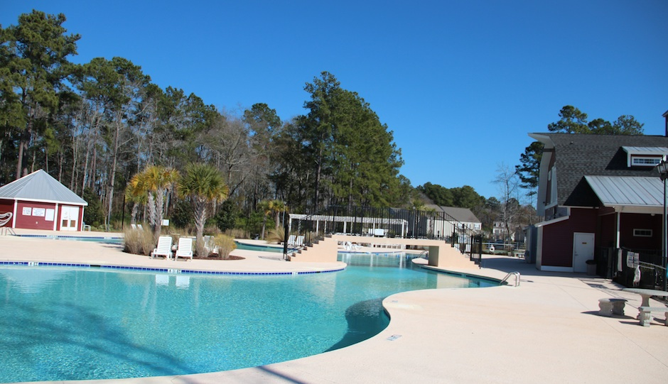 The pool at the Farm