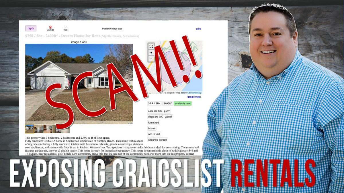 Renting A Home Through Craigslist   Myrtle Beach Homes ...