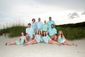 Large Family portrait Myrtle Beach