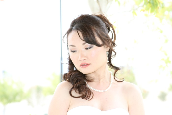 Beautiful bridal photography portrait
