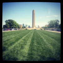 My run view 5/12/13 (WWI Memorial) @ Sally Morrow Photography
