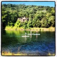 My run view at Big Cedar Lodge - 8/19/13