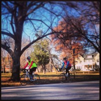 My run view 12/01/13 - Loose Park - Kansas City, Mo.