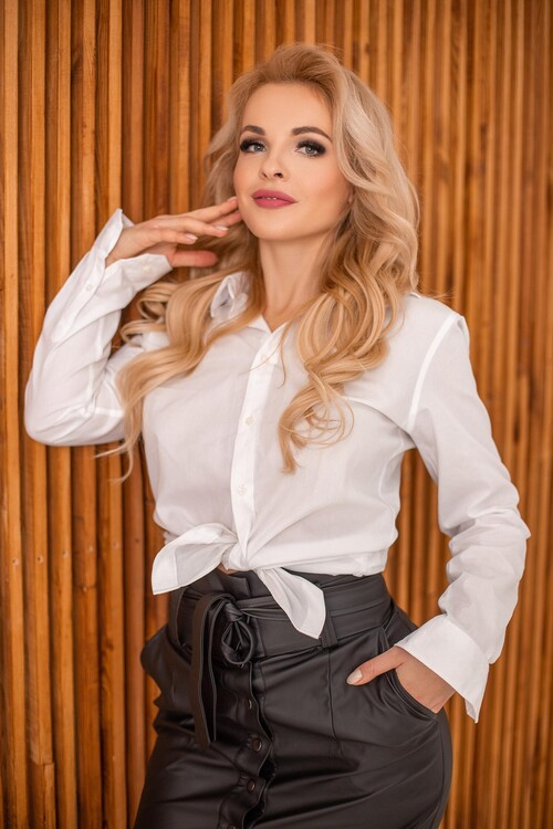 Olga ukrainian embroidered womens blouse