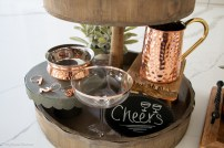 Tiered Tray Styling 101 Moscos Mule Theme