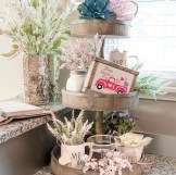 Valentines Day Tiered Tray Styling