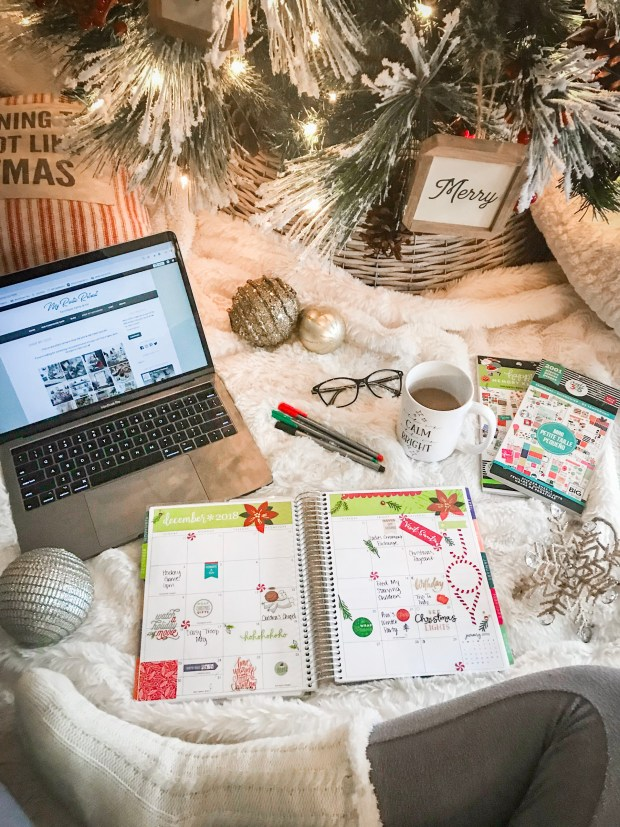 Life Planner Christmas Stickers in December and During the Holidays