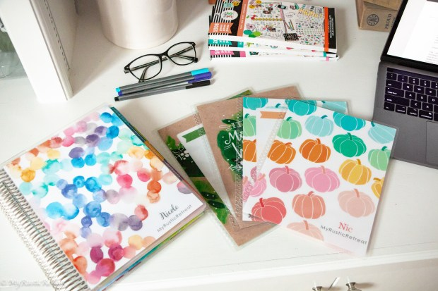 Life Planner Has Interchangeable Covers You Can Change with Your Mood or Seasonally