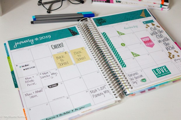 Life Planner Monthly View Has So Much Room for Notes