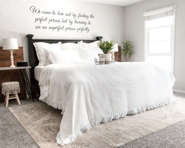 Easy way to update your master bedroom