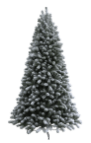 Weekly Steal 12ft Flocked Christmas Tree