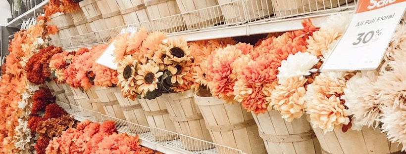 Weekly Steals Include Fall Floral Sale at Michaels