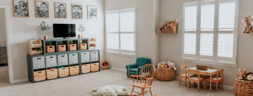 Playroom Organization and Makeover