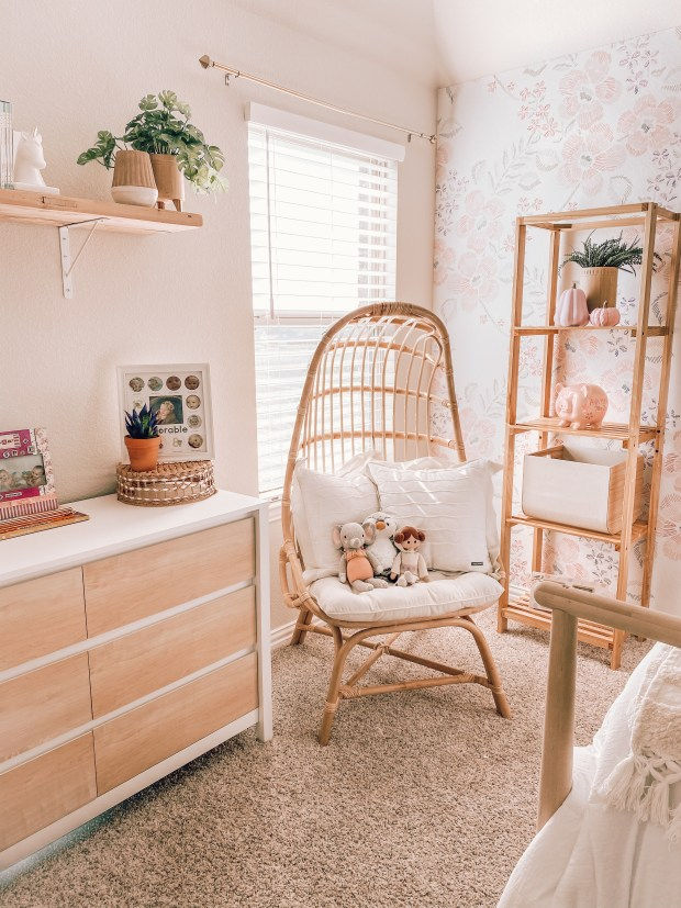 Girls Nursery Makeover