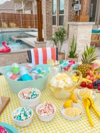 Colorful Summer Party Ideas