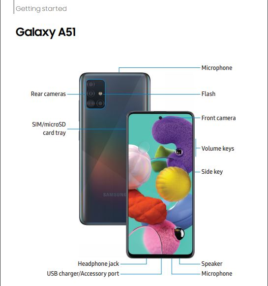 Tracfone Samsung Galaxy A51