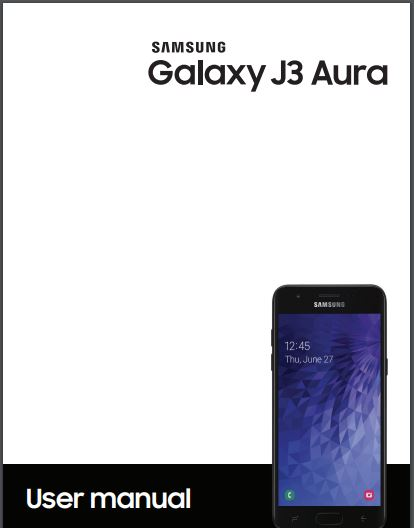 Galaxy J3 Aura User Manual