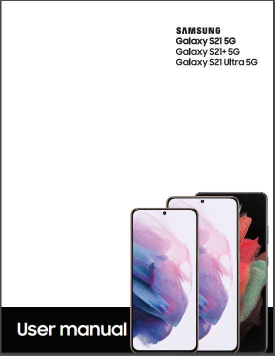 Samsung S21 user manual / Guide - English