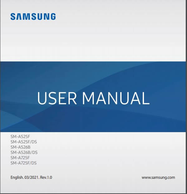 Samsung Galaxy A52 5G User Manual / Guide