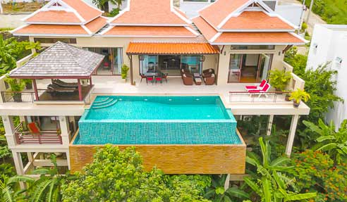 Villa Browallia – Stunning View – North-East Of Koh Samui – Bophut