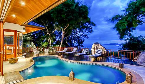 Dream Rock Villa – Sea View – East Of Koh Samui – Center Lamai