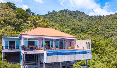 Villa Moonflower – Breathtaking Panorama – North Of Koh Samui – Maenam